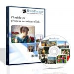 Example personalised DVD containing scans of slides, negatives or photos
