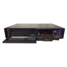 Professional VHS player for video conversion to DVD