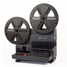 Super8 projector for digital conversion to DVD
